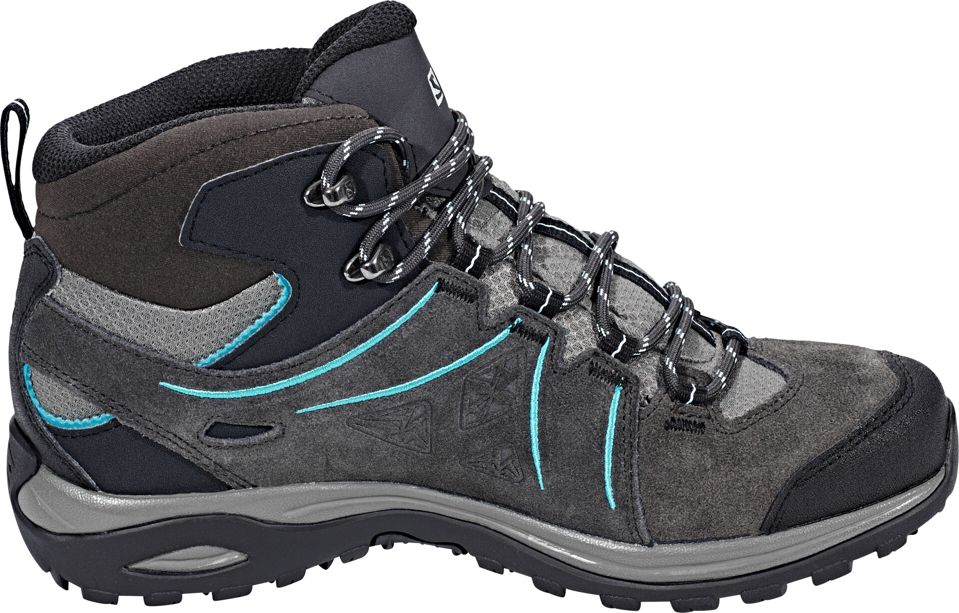 Salomon Ellipse 2 Mid LTR GTX Schoenen Dames, phantomcastor grayaruba blue